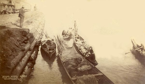 Indians Returning From a Hop Field (October 1888).