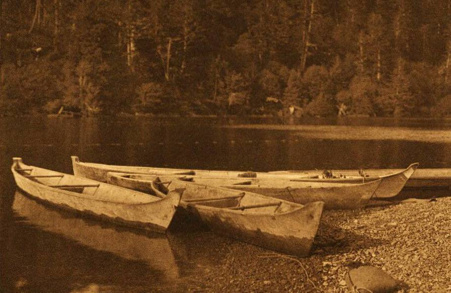 Quinault River Canoes.