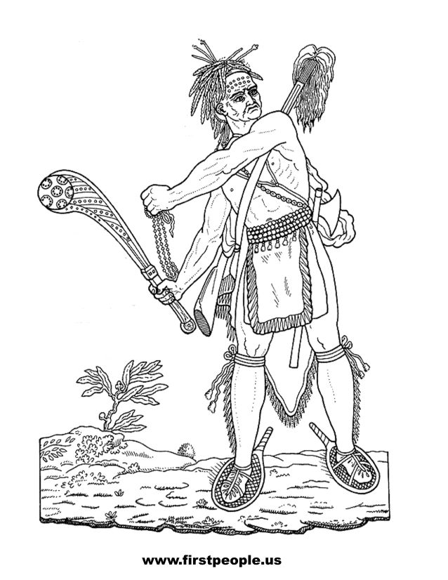 coloring pages cherokee indians - photo#16