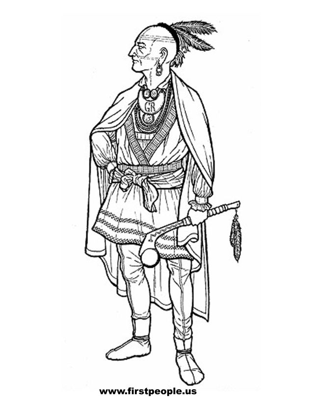 Iroquois indians clothes coloring pages coloring pages for Iroquois coloring pages