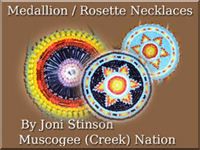 Rosette Necklaces.