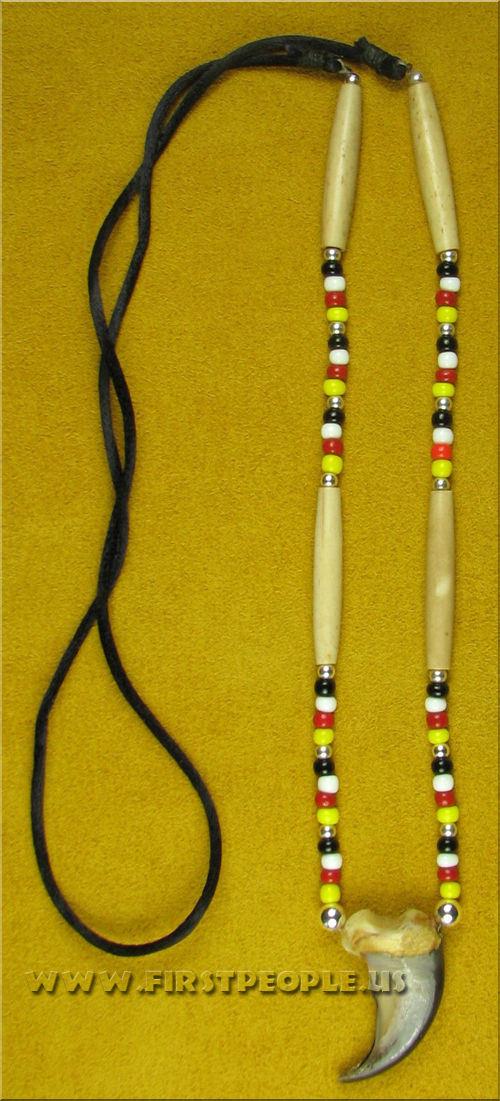 Bear Claw Jewelry Handmade With Genuine Bear Claw