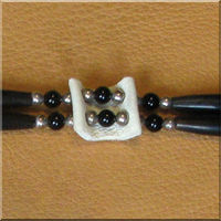Double Stranded Choker with Black Onyx.