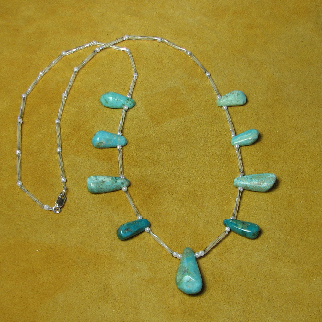 Authentic Native American Turquoise Jewelry By Barbara