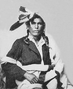 An old photograph of a Chippewa Chief.