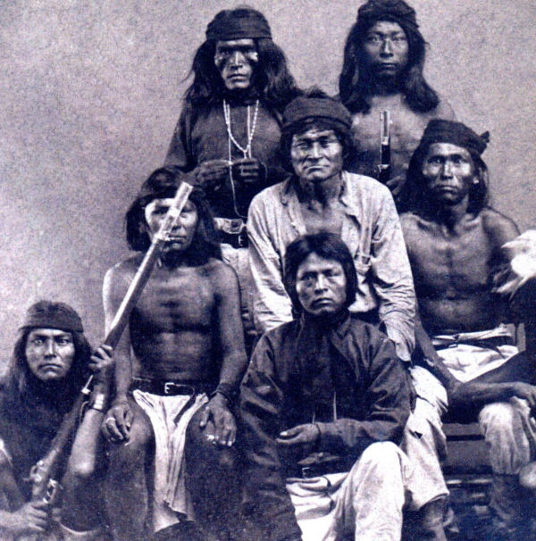 A Group of White Mountain Apache.