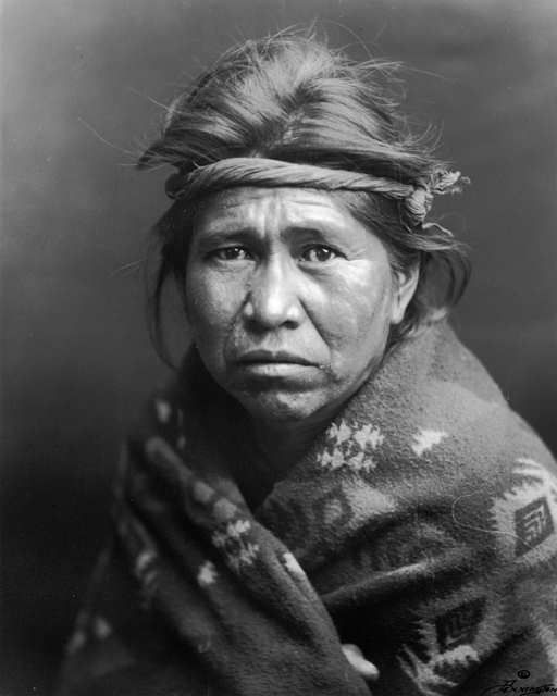 An old photograph of Be-zhosie's Son - Navajo.
