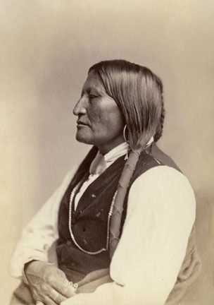 An old photograph of Bird Chief - Arapaho [A].