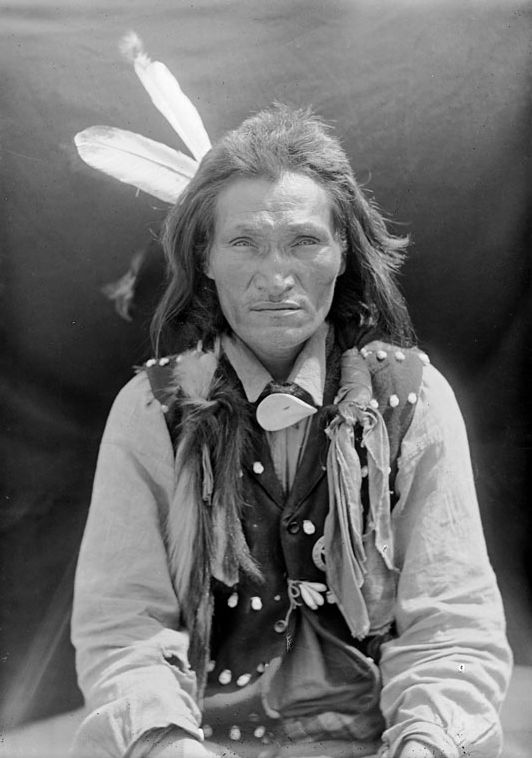 An old photograph of Black Bull - Oglala 1907.