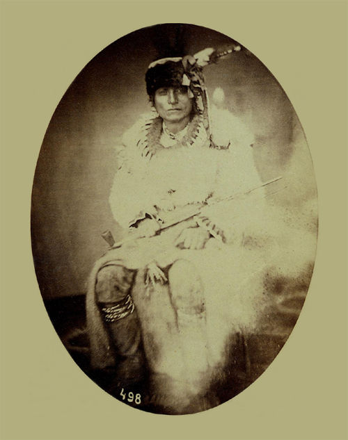 An old photograph of Black Elk.