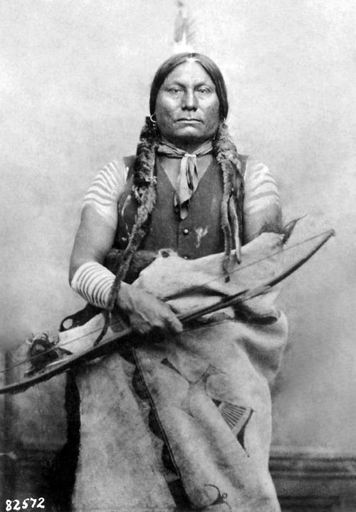 An old photograph of Chief Gall (Hunkpapa Chief).