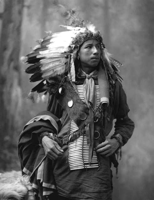 An old photograph of Crazy Bull - Oglala 1899.
