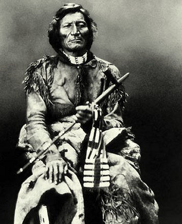 An old photograph of Dull Knife - Northern Cheyenne.