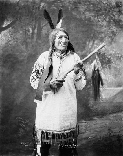 An old photograph of Eagle Man aka Anbli - Wicasa [A].