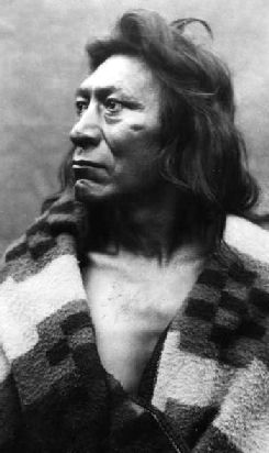 An old photograph of Fish Hawk - Umatilla Chief [B].