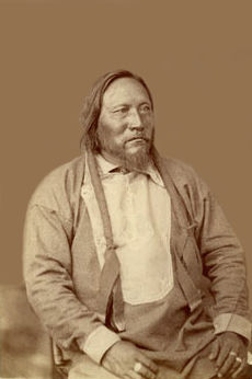 An old photograph of Guerro - Ute Chief.