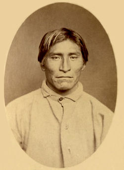 An old photograph of Ike - Modoc 1873.