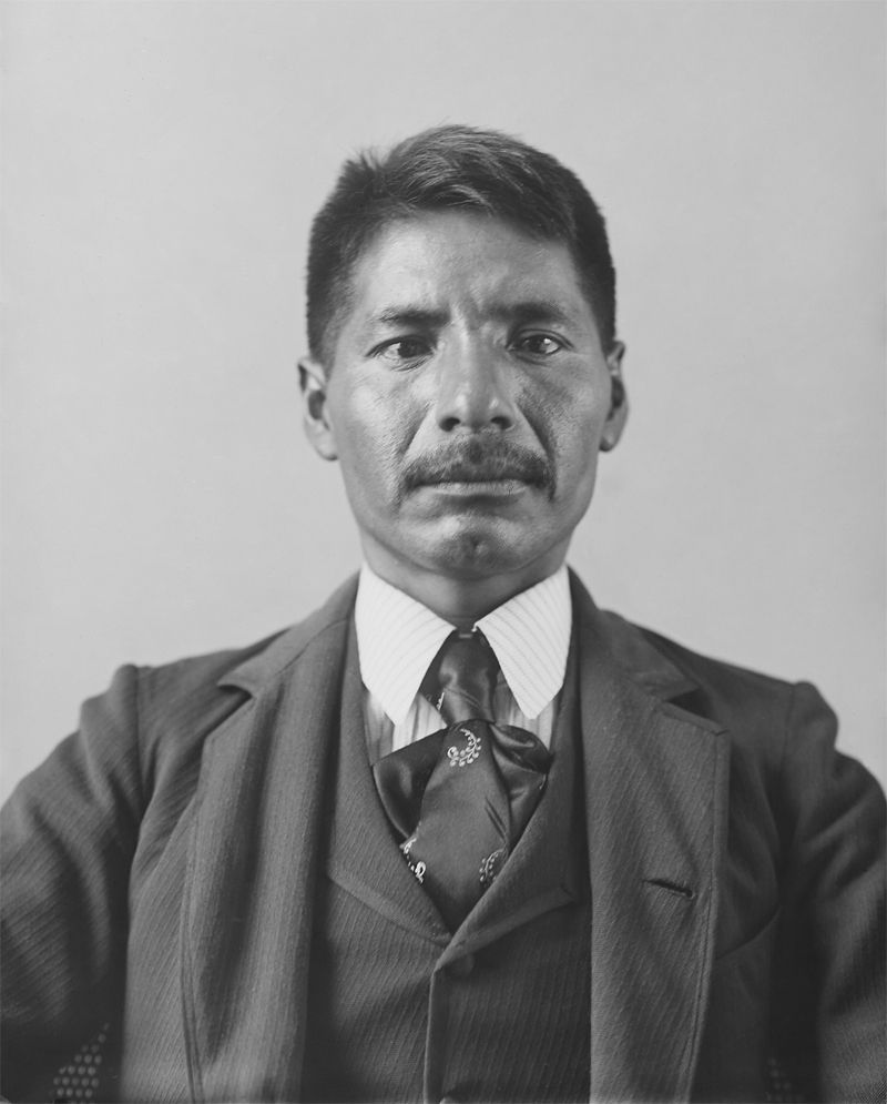 An old photograph of Jose Lewis - Papago.