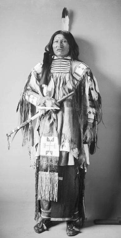 An old photograph of Kicking Bear - Miniconjou 1886.