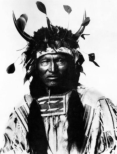 An old photograph of Kicking Bear - Miniconjou.