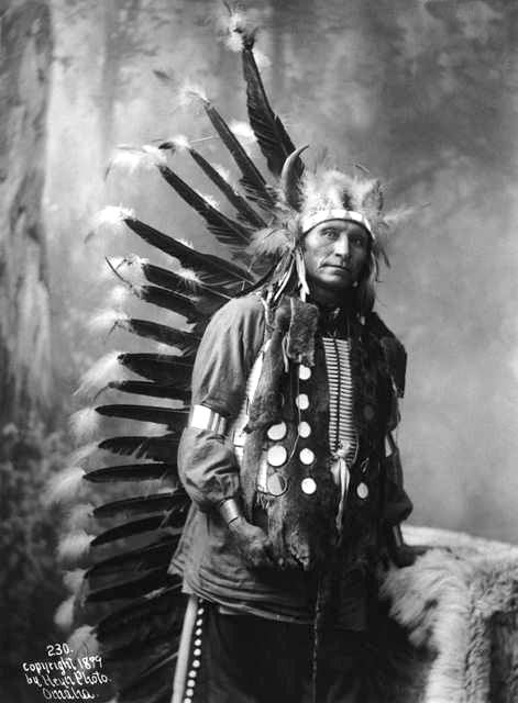 An old photograph of Little Horse - Oglala 1899.