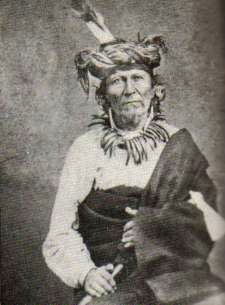 An old photograph of Lone Chief aka Antoine Primeaux - Ponca/French-Canadian [B].