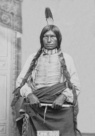 An old photograph of Low Dog - Oglala [A].