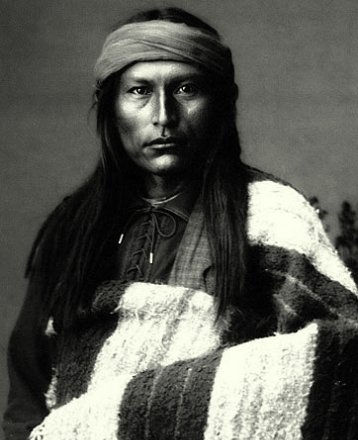An old photograph of Naichez - Chiricahua Apache.