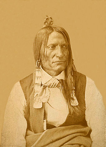 An old photograph of No Flesh - Oglala.