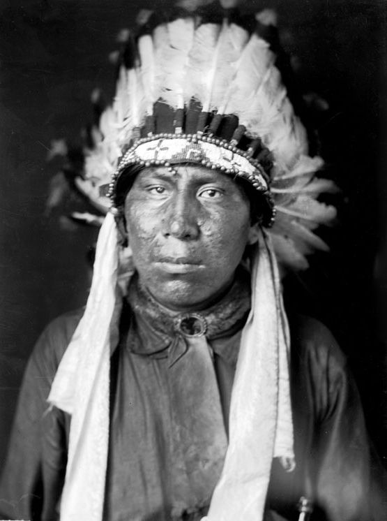 An old photograph of Oscar Whetstone - Oglala 1907.