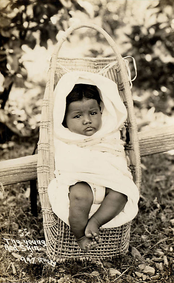 An old photograph of a Papoose [C].