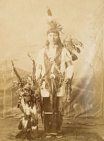 An old photograph of Pass By - Sioux.