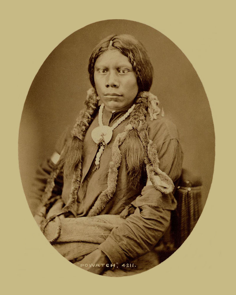 An old photograph of Powatch - Ute 1879-94.