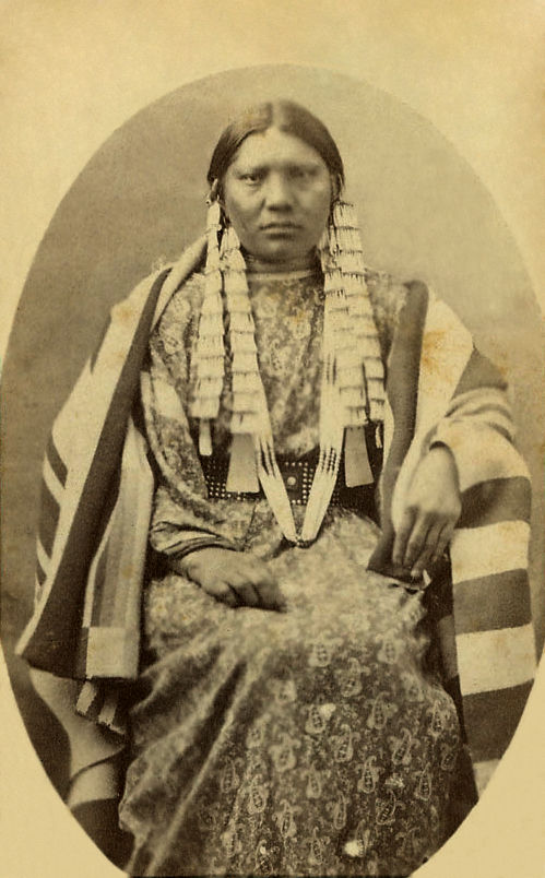 An old photograph of Red Cloud's Daughter - Oglala.