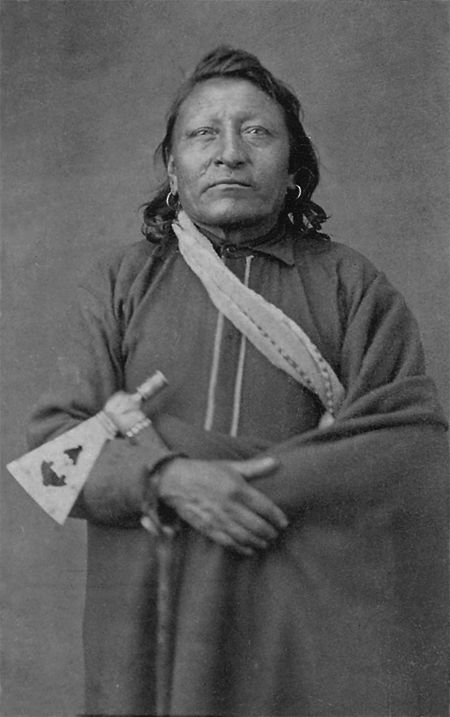 An old photograph of Red Dog - Oglala [A].
