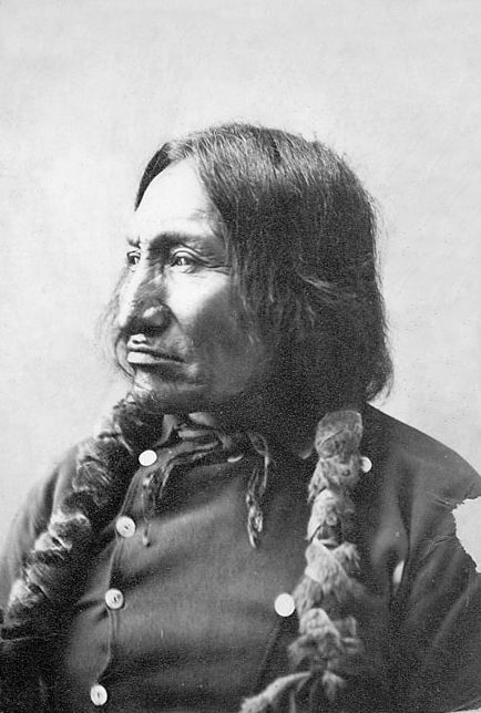 An old photograph of Red Horse - Miniconjou Chief.