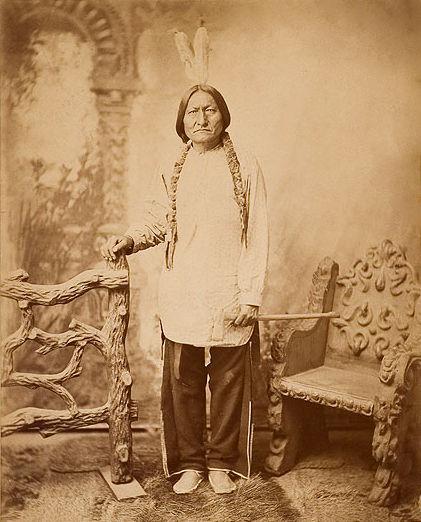 sitting bull hunkpapa chief b