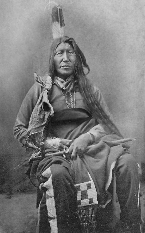An old photograph of Slow Bull - Oglala.