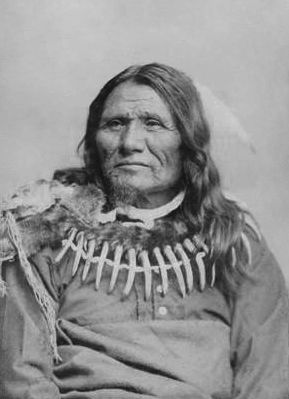 An old photograph of Standing Bear - Ponca [A].