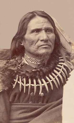 An old photograph of Standing Bear - Ponca [B].