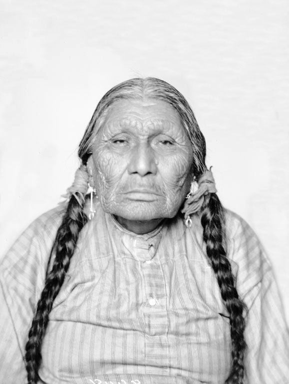 An old photograph of Standing Elk - Ponca.