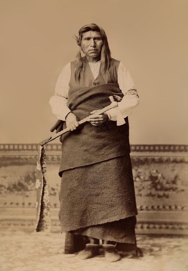 An old photograph of Tomasket - Nez Perce.