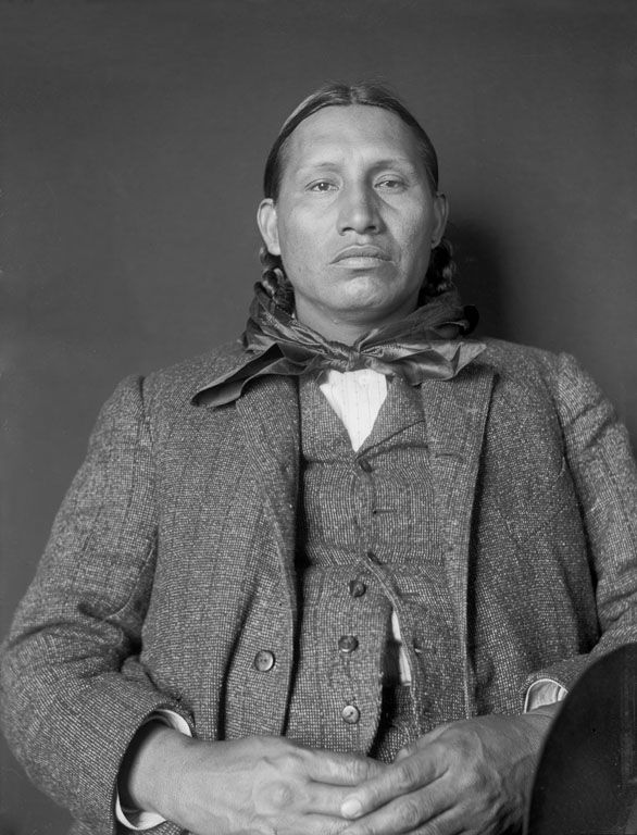 An old photograph of Wanderer - Ponca 1906.