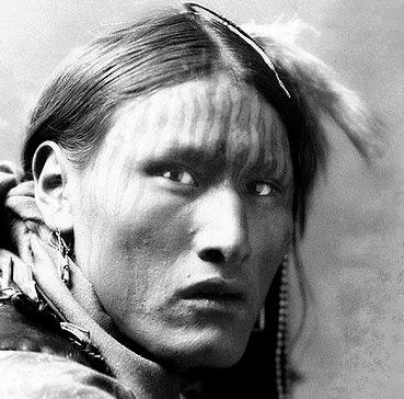 An old photograph of White Belly - Sioux.
