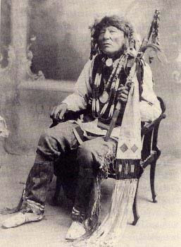 An old photograph of White Eagle - Ponca [B].