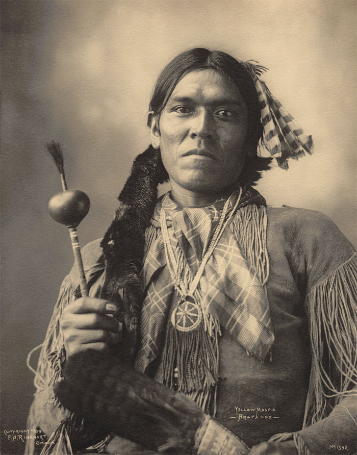 An old photograph of Yellow Magpie - Arapahoe 1899.