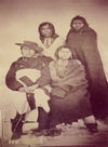A Group of Shoshone Indians.