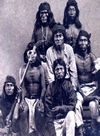 A Group of White Mountin Apache Indians.