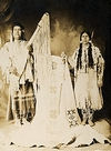 A Nez Perce Couple.