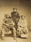 A Yankton Indian Family.